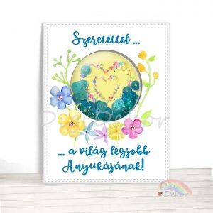 anyák napi üdvözlőkártya