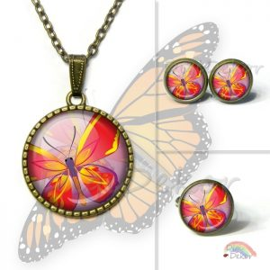 Pillangós nyaklánc