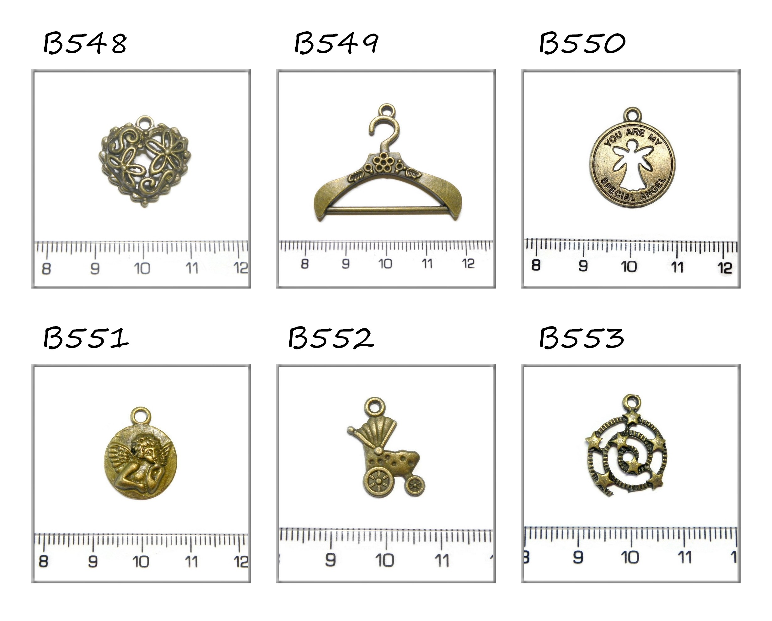 bronz függődíszek 9