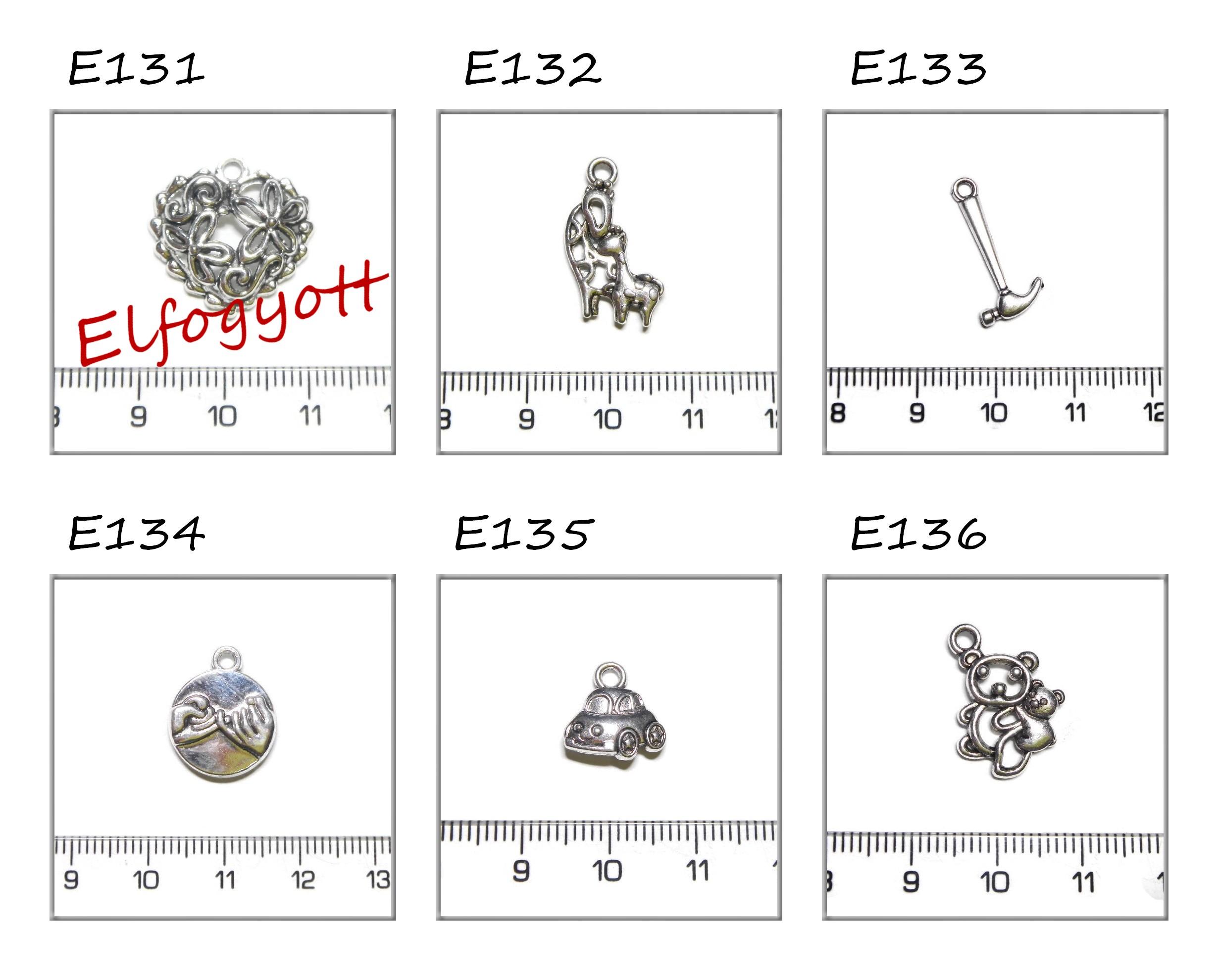 ezüst függődíszek 6