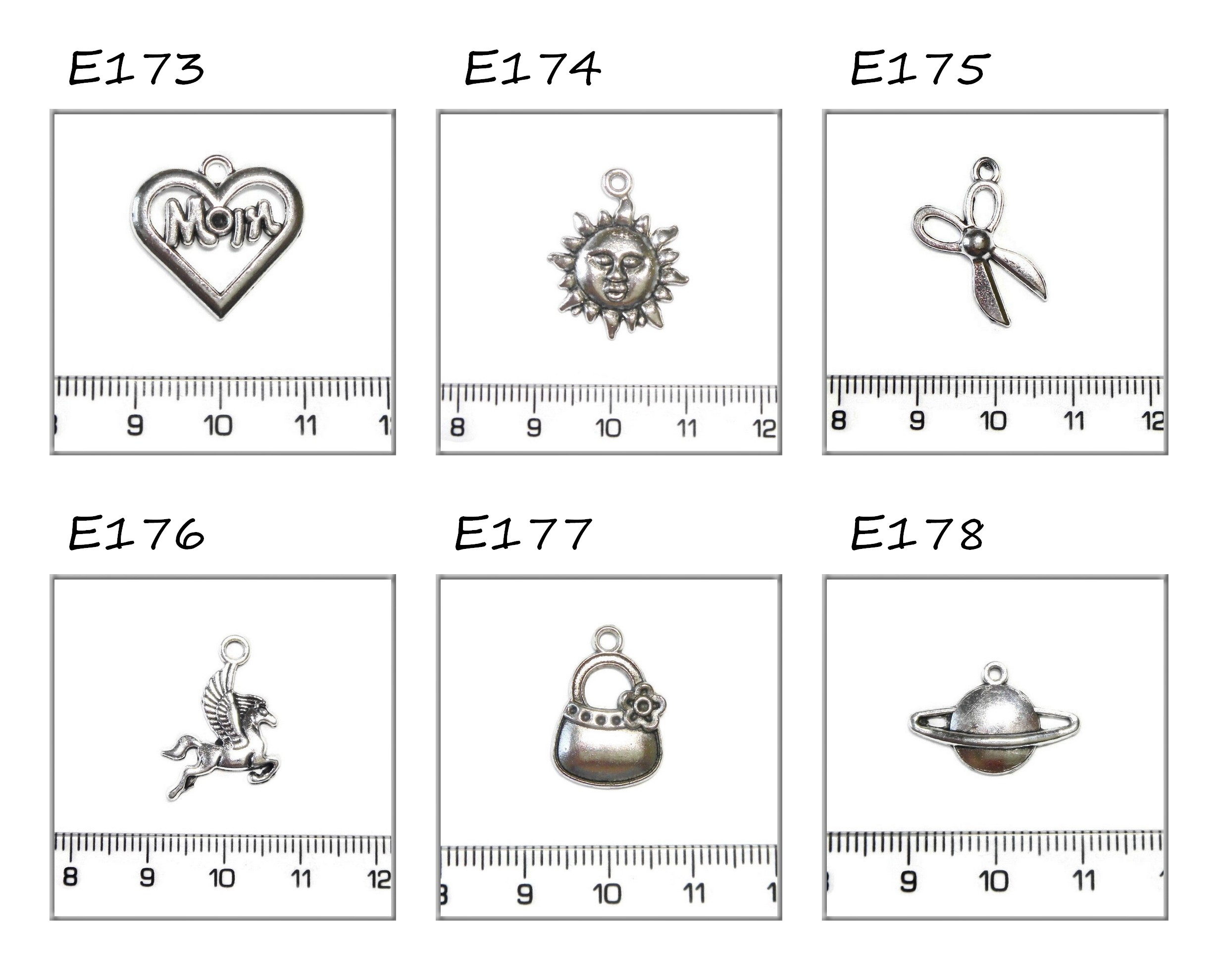 ezüst függődíszek 13