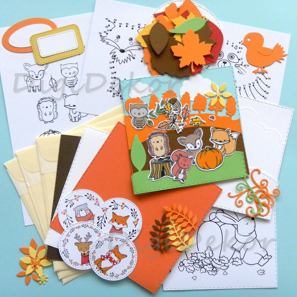 kreatív ötletek gyerekeknek őszre