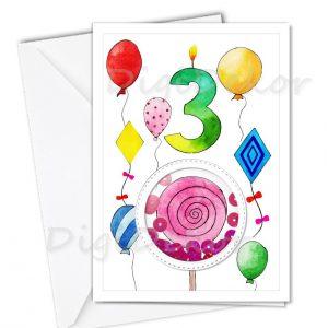 születésnapi képeslap gyerekeknek
