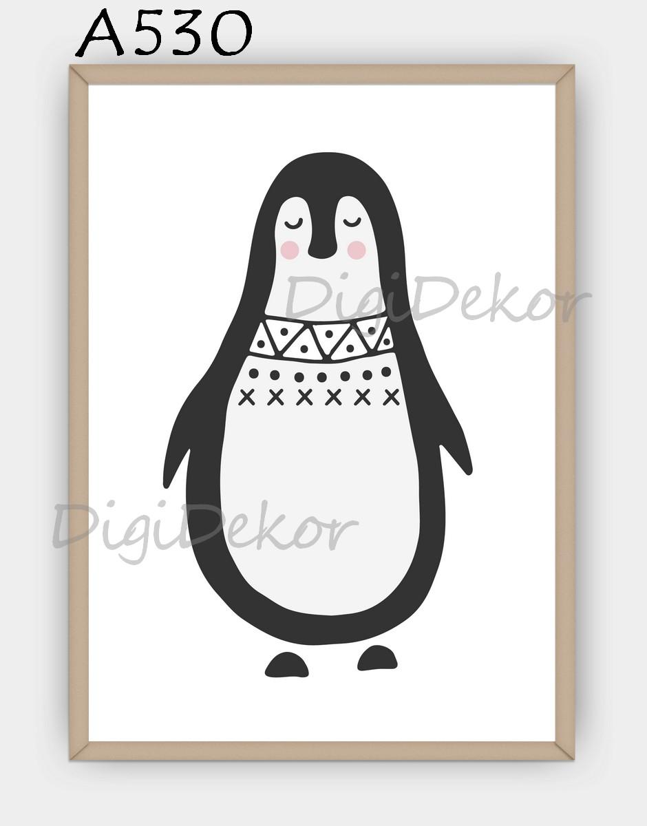 pingvines falikép
