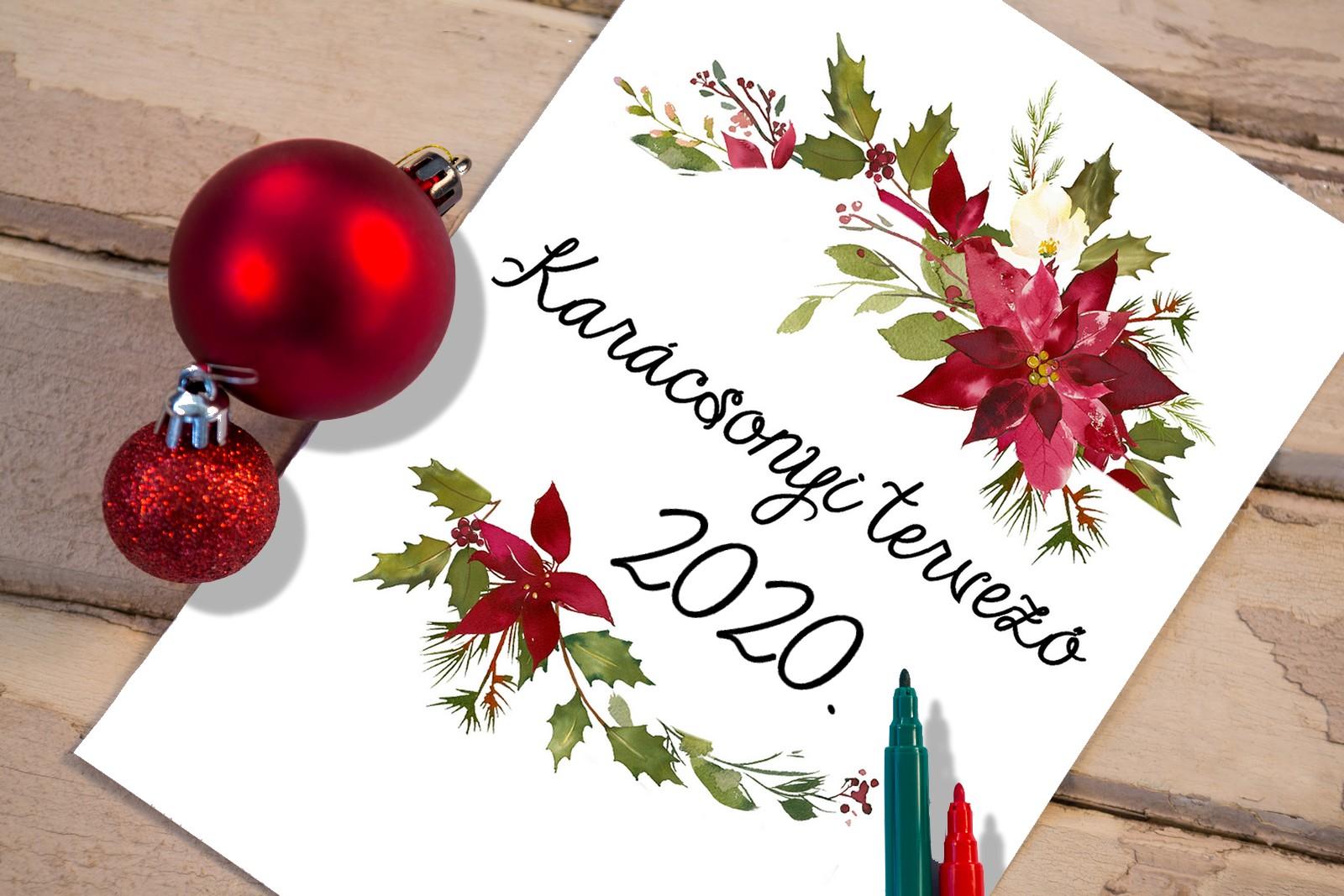 karácsonyi tervező 2020 DigiDekor