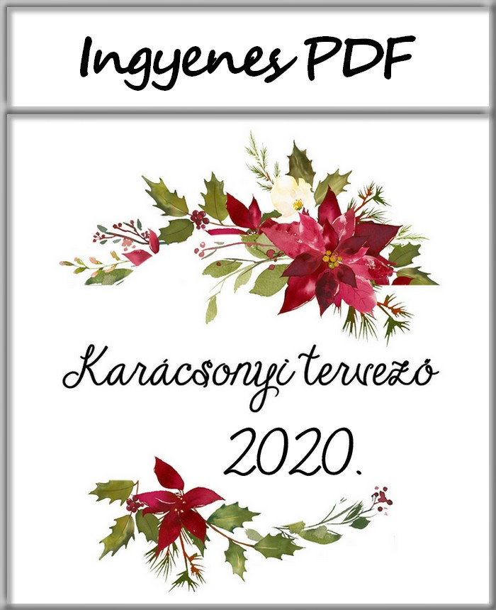 karácsonyi tervező 2020