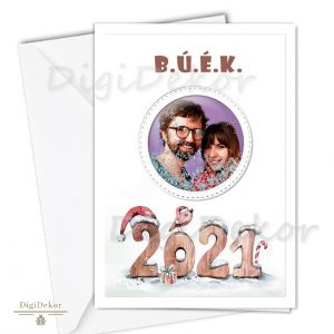 újévi képeslap fényképpel